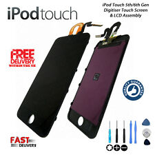 **NEW** Digitiser Touch Screen & LCD Repair For iPod Touch 5th & 6th Gen - BLACK