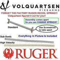 VOLQUARTSEN VS3 Mark 1 2 3 4 Recoil Spring Assembly Ruger MK II III 22/45 & LITE