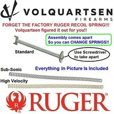 VOLQUARTSEN VS3 Mark 1 2 3 4 Recoil Spring Assembly Ruger MK II III 22/45 & LITE