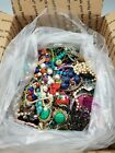 7.90Lbs Broken & Wearable Mixed Jewelry Lot for Crafting or Jewelry Making FC677