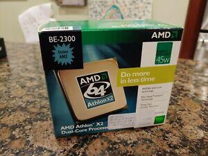 AMD Athlon X2 BE-2300 Brisbane Dual-Core 1.9GHz Desktop CPU Processor Socket AM2