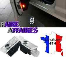 2 Eclairage seuil de porte Logo AUDI A4 S4 RS4 B7 B8 Cabriolet Break Sline