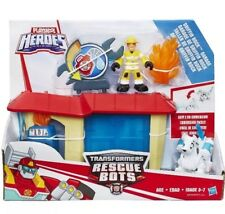 Playskool Heroes Transformers Rescue Bots - Griffin Rock Garage set *BRAND NEW*
