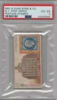 1889 N85 W.Duke Sons & Co. Postage Stamps N.Y. Post Office Graded PSA 4