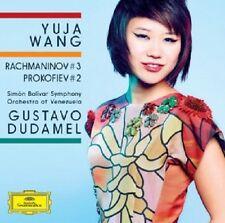 YUJA WANG,GUSTAVO DUDAMEL - KLAVIERKONZERTE 3/2  CD NEU RACHMANINOFF/PROKOFIEFF