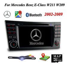 "7"" Touch Screen Car DVD GPS Nav Stereo Radio for Mercedes Benz E-Class W211 W219"
