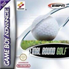 Nintendo GameBoy Advance Spiel - Final Round Golf Modul mit Anl.