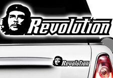 1x Che Guevara Rivoluzione AUTO STICKERS Castro TUNING DECAL Cuba Cuba Fidel xxq