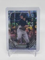Zack Collins 2019 Bowman Chrome BCP-76 Speckle Refractor /299 Chicago White Sox