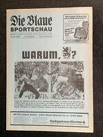 AR zur II. BL 85/86 TSV 1860 München - SSV Ulm 1846, 18.06.1986