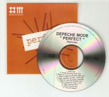 DEPECHE MODE 'PERFECT' THE REMIXES  -  10 REMIX RARE BRAZILIAN CD PROMO