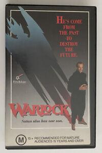 Warlock [VHS] First Release Video 1989 Ex-Rental Tape Horror Witchcraft