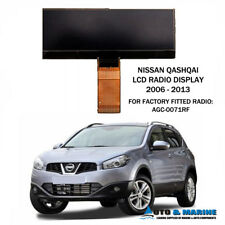 NISSAN QASHQAI LCD DISPLAY SCREEN DAEWOO RADIO AGC-0070 AGC-0071 2006 -2013 NEW