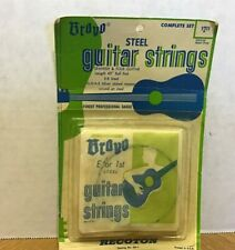 Vintage Bravo Steel Guitar Strings Spanish & Folk Guitar Professional Gauge USA