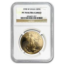 1998-W 1 oz Proof Gold American Eagle PF-70 NGC - SKU #19378