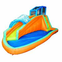 Banzai Surf Rider Kids Inflatable Outdoor Aqua Lagoon Water Slide Splash Park