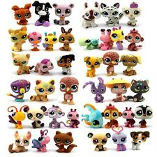 Random Pick Different 10 Littlest pet shop LPS figure xmas gifts GIRL Toy M299x2