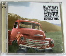BILL WYMAN'S RHYTHM KINGS - DOUBLE BILL - 2 CD Nuovo Unplayed