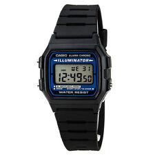 Casio Men's Illuminator Alarm Chrono Digital Black Resin Watch F105W-1A