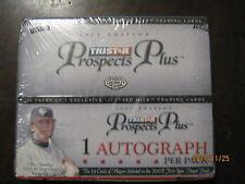 2007 Tristar Prospects Plus sealed Hobby Box 10 autographs Bumgarner Donaldson