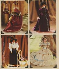 """Vogue 9759  622 11.5"""" HIstorical Period Costume Doll Clothes Pattern Linda Carr"""