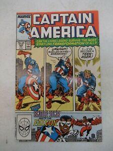 CAPTAIN AMERICA #355 JULY 1989 NM NEAR MINT 9.6 BATTLESTAR FALCON MARVEL COMICS