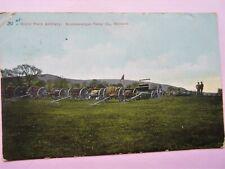 POSTCARD ROYAL FIELD ARTILLERY KNOCKANARGAN CAMP WICKLOW, IRELAND, Circa 1908