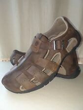 TEVA Mens Sandals Size 9 Brown Leather Fisherman