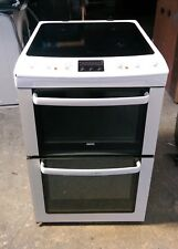 55CM WIDE Zanussi AA energy rated double oven electric cooker DELIVERY, WARRANTY