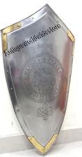 Medieval Horse Templar Armor Shield Steel  Home Decor Gift