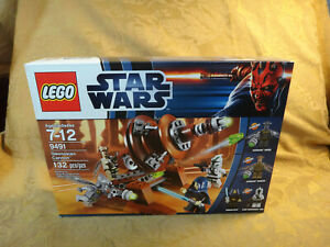 Star Wars Lego Geonosian Cannon 9491 Factory Sealed - Free S&H USA