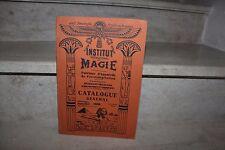 institut international de magie, catalogue général 1932