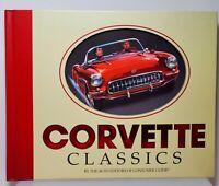 CORVETTE CLASSICS Hardcover Publications International Auto Car Enthusiasts Gift