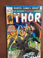 Thor #265 (1977) 7.5 VF Marvel Bronze Age Comic Book Newsstand Edition Destroyer