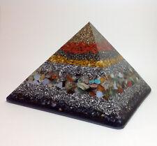 Orgonita Pirámide, Super Grande, 16.5 cm, peso 2005g-espacio harmoniser