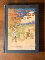 HTF 1904 Illustrated Collodi Pinocchio Adventures Marionette Charles Copeland NR