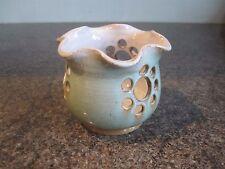Poole Pottery-Portacandelitas-impresionado marca