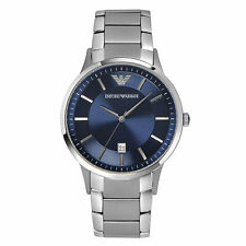 NEW EMPORIO ARMANI AR2477 MENS STAINLESS STEEL WATCH - 2 YEAR WARRANTY