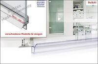 4 5 6 8 mm Dusar NEU Glas Duschkabine Wasserabweiser Duschdichtung HSK 3