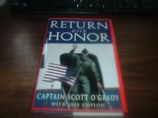 Return With Honor Signed by Scott O'Grady Hardcover with Dust Jacket
