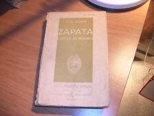 1934.Zapata Attila du Mexique / Dunn