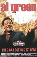 Al Green Chuck Berry  Concert Handbill Mini-Poster BB Kings NYC