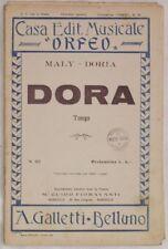 1930 MALY DORIA DORA SPARTITI MUSICA ORCHESTRA MUSIC