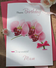Personalised  Birthday Card Mother's Day Friend Nan Auntie 40th 50th 60th