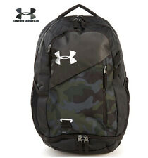 Under Armour UA Hustle 4.0 Backpack Desert Sand Camo Laptop School 1342651 290