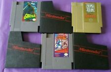 The Legend Of Zelda Godzilla Mega Man 2 Nintendo Nes 3 game lot and nes sleeve's