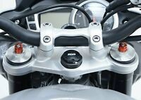 Triumph Street Triple R/RS/S 765 2017-2019 R&G Racing Top Yoke Plug Protector