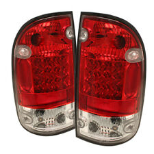 Toyota 95-00 Tacoma Red Clear LED Rear Tail Brake Lights Lamp DLX SR5 Pre-Runner