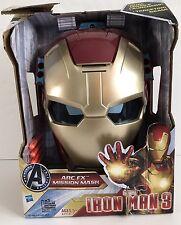 Avengers Initiative Arc Fx Mission Mask Marvel Iron Man3 Kid Toy New Comic Hero