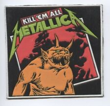 Metallica Kill 'em All synthetic 3D patch early 80's RARE